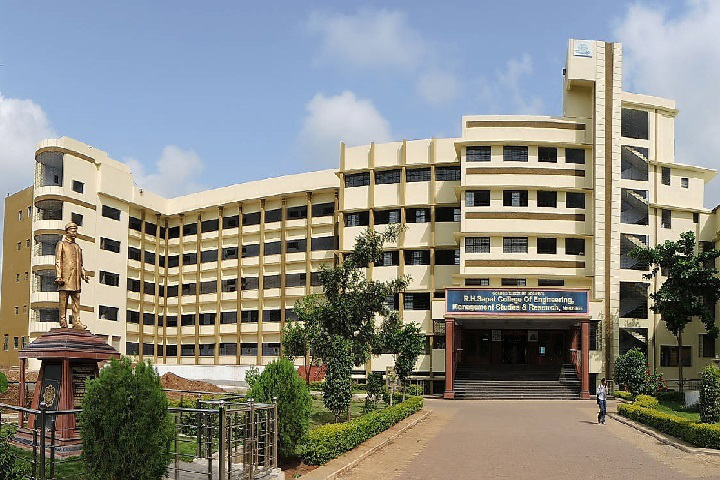 Campus View of RH Sapat College of Engineering Management Studies and Research Nashik_Campus-View